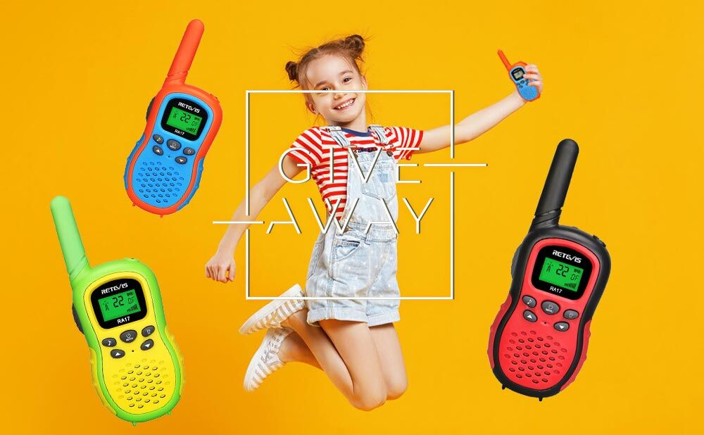 RetevisRA17 3 Sets Radios of Giveaway Is Coming