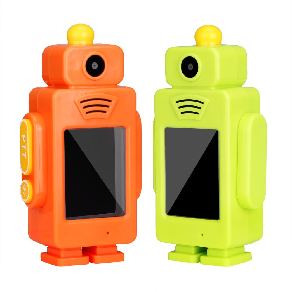 RT34 Live Video Walkie Talkies Rechargeable For Kids