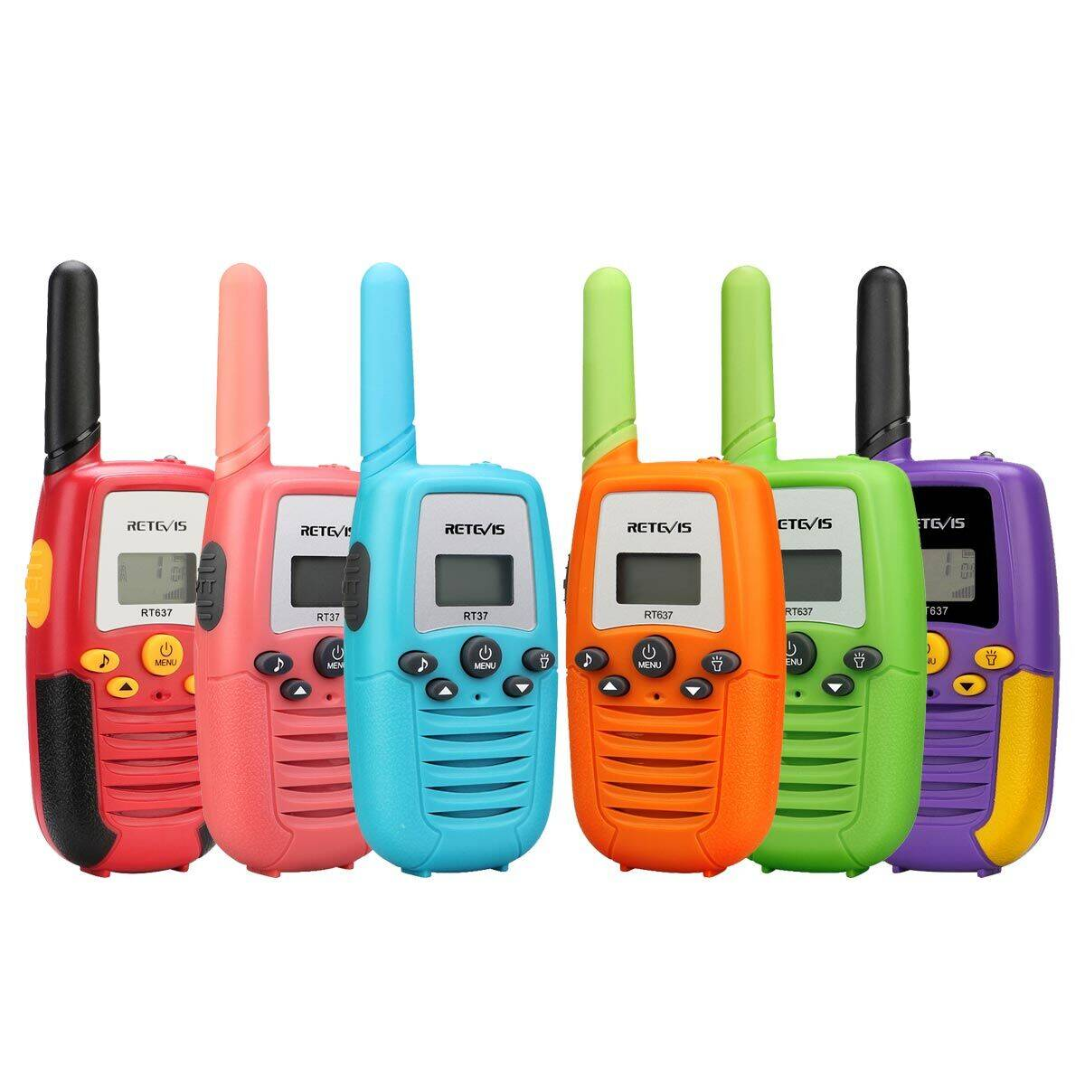 """Hot cake"" Multi-Color two way radio"