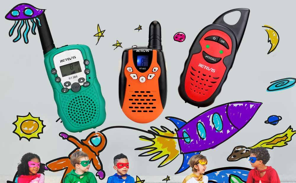 Comfortable Walkie talkie for children