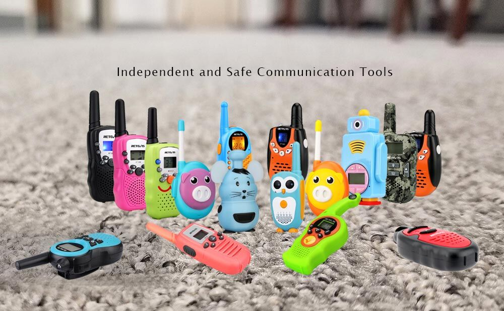 Independent and Safe Communication Toys For Children