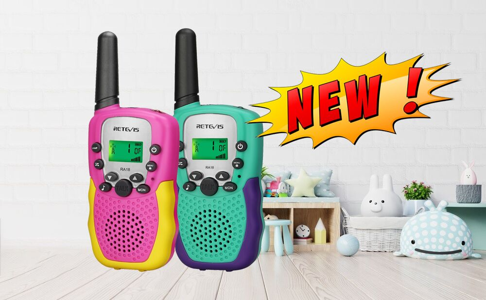 New product two way radio RA18 is coming