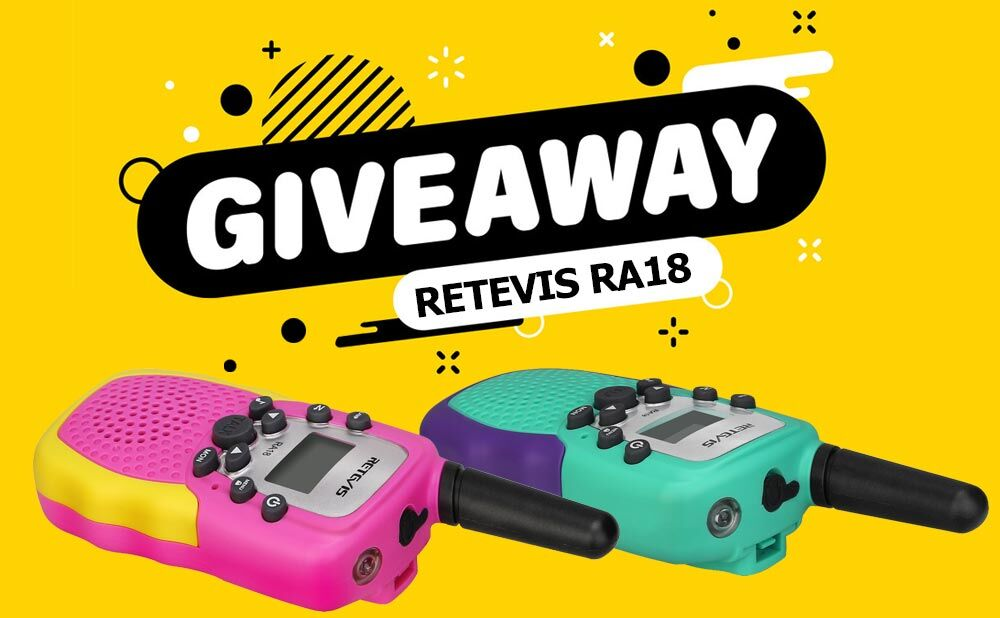 Two way radio RetevisRA18 Giveaway Is Here