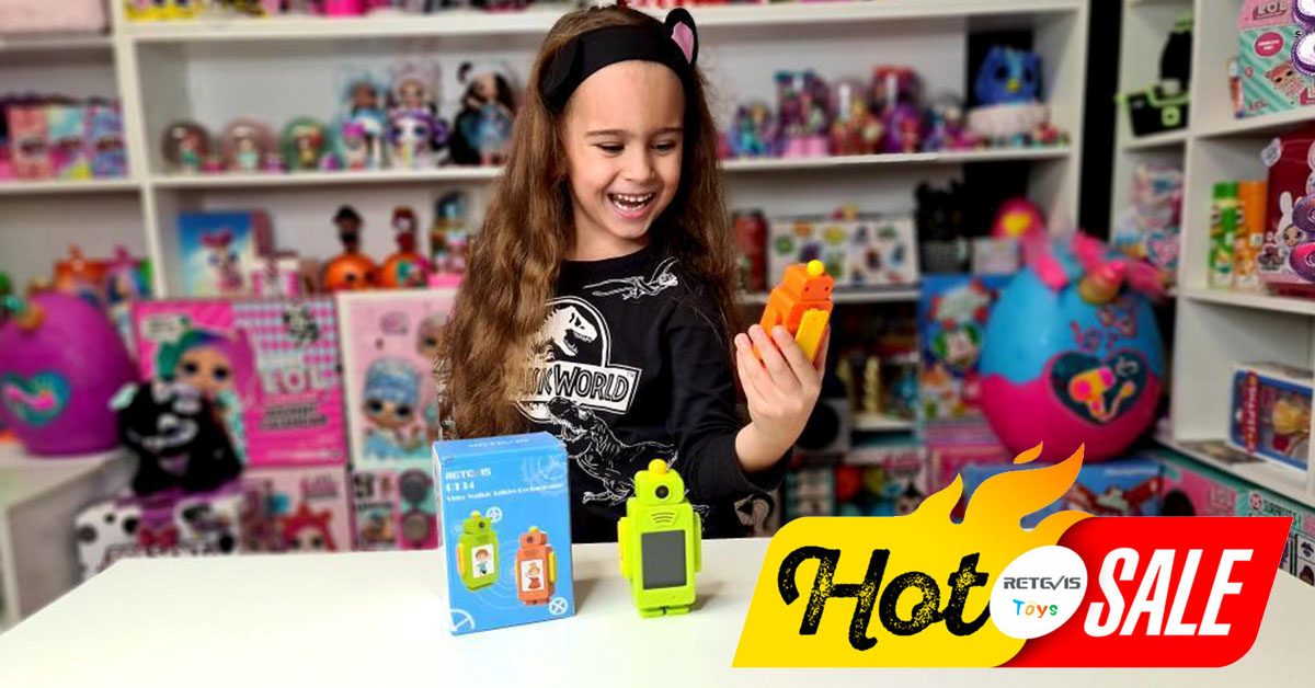 """Hot Cake"" Video Walkie-Talkies Toy For Kids"