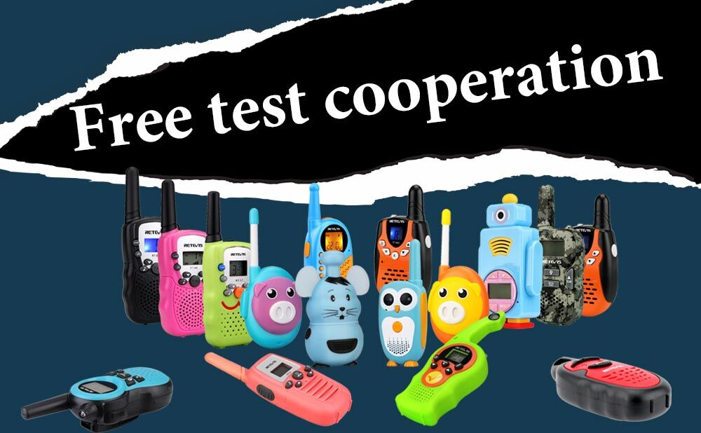 Children's walkie-talkie toys free evaluation cooperation