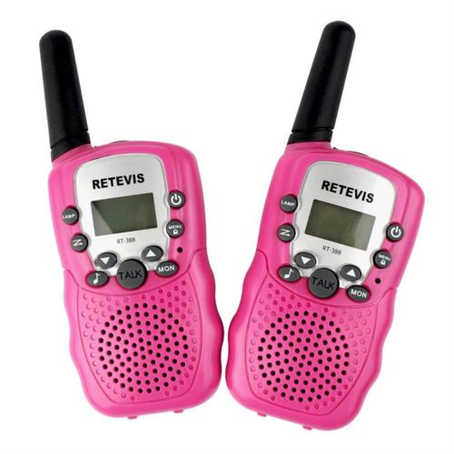 Rechargeable walkie talkie toy for kids