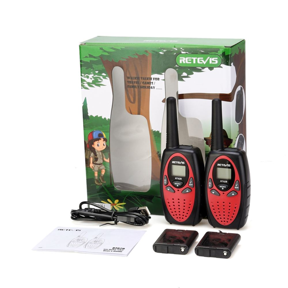 Rechargeable Walkie Talkie with Gift Package